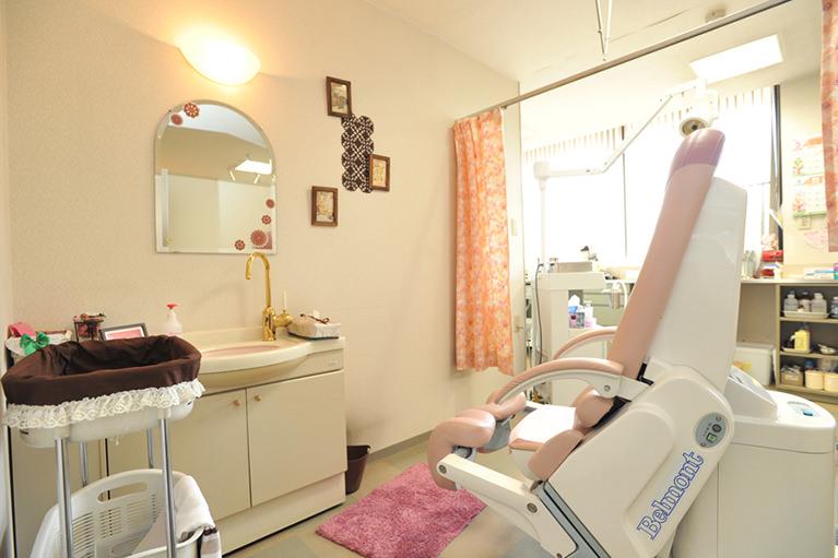 検査室 化粧台